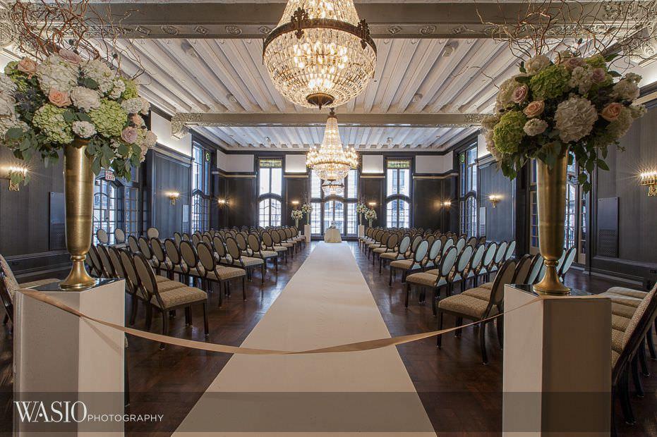Chicago-Athletic-Association-Wedding-ceremony-room-details-decoration-113 Chicago Athletic Association Wedding - Allison and Clayton