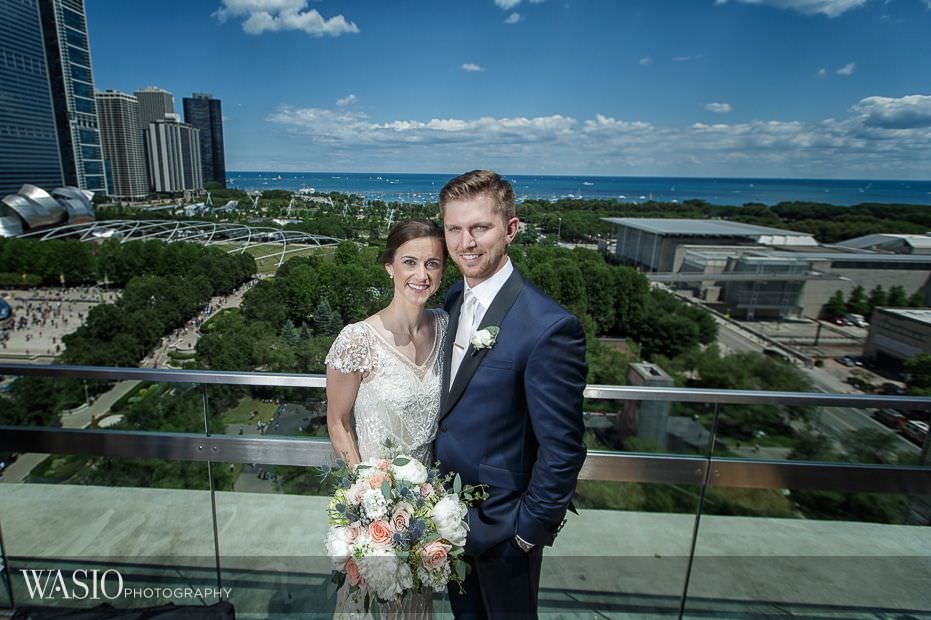 Chicago-Athletic-Association-Wedding-roof-top-city-view-millenium-park-126 Chicago Athletic Association Wedding - Allison and Clayton