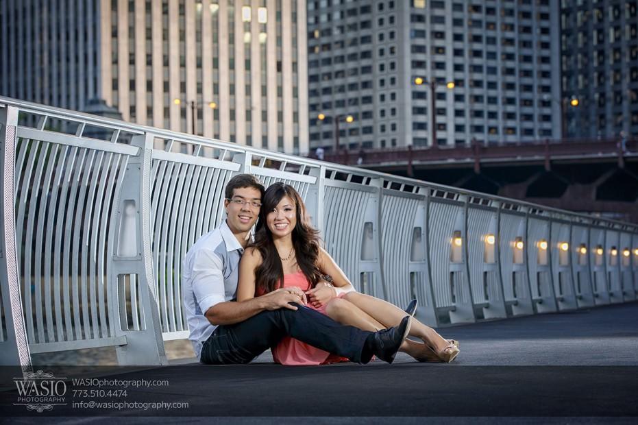 Chicago-Destination-Engagement-Trump-river-walk-118-931x620 Chicago Destination Engagement - Mai + PJ