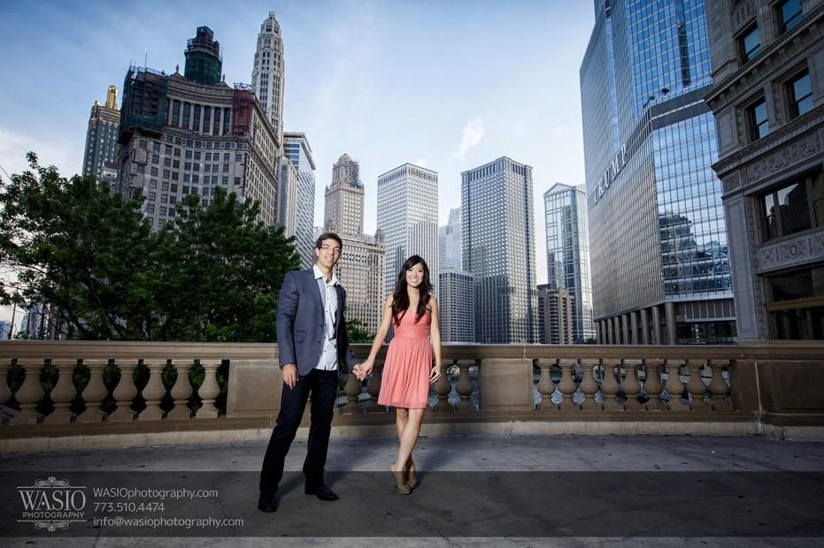 Chicago-Destination-Engagement-trump-hotel-chicago-river-109-931x620 Chicago Destination Engagement - Mai + PJ
