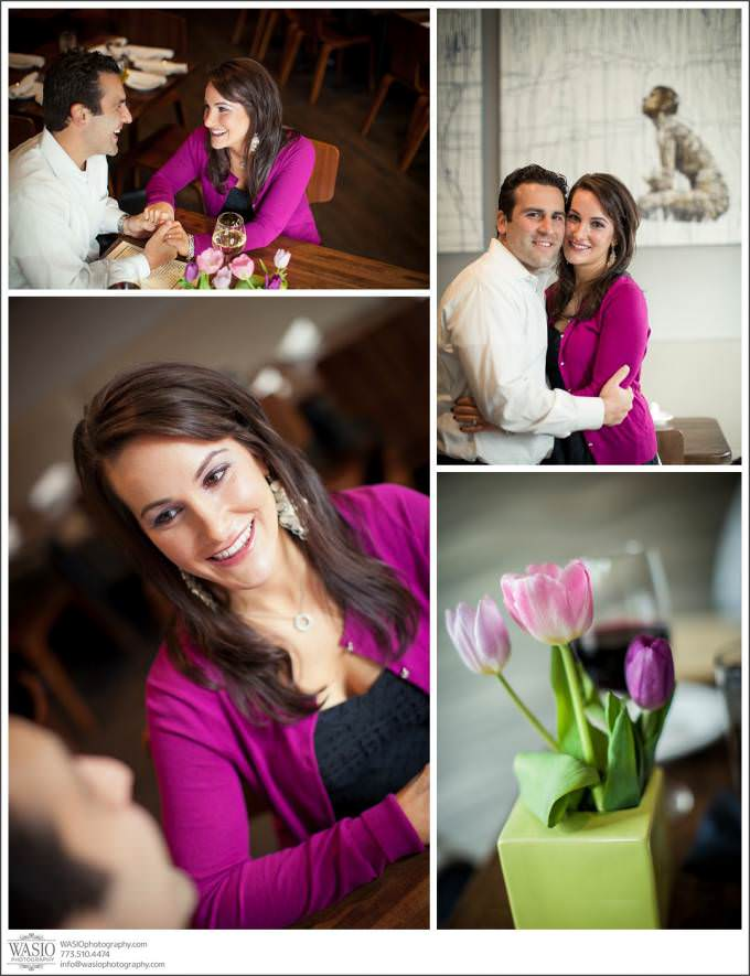 Chicago-Engagement-romantic-wine-flowers-680x885 Salvage One Chicago - Vintage Engagement Session {Stephanie & Dominick}