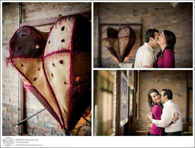Chicago-Engagement-vintage-9-680x518 Salvage One Chicago - Vintage Engagement Session {Stephanie & Dominick}