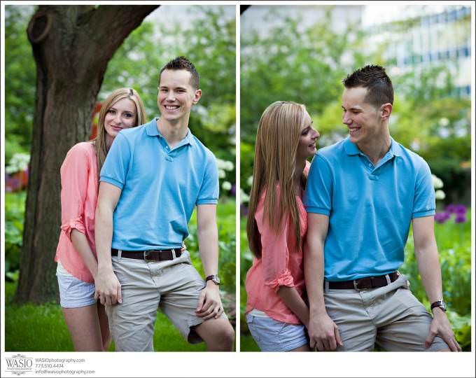Chicago-Illinois-engagement-downtown-art-institure-wedding-Photographer-680x540 Art Institute Gardens Engagement - Natalia & Michal