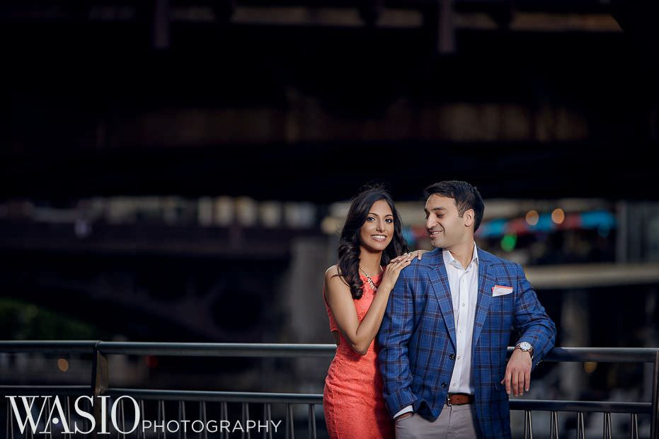 Chicago-Indian-Engagement-session-downtown-romantic-outdoor-photo-ideas-8 Chicago Indian Engagement Session - Reeya & Aman