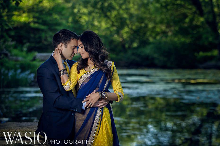 Chicago-Indian-Engagement-session-romantic-passion-love-lilly-pond-3 Chicago Indian Engagement Session - Reeya & Aman