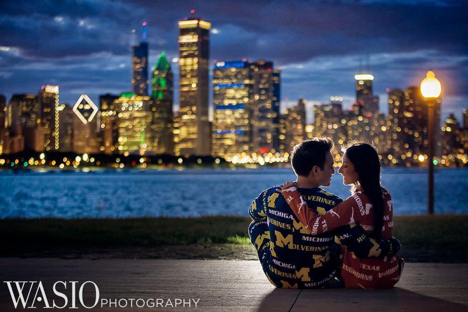 Chicago-Indian-Engagement-session-romantic-sunset-photo-14 Chicago Indian Engagement Session - Reeya & Aman