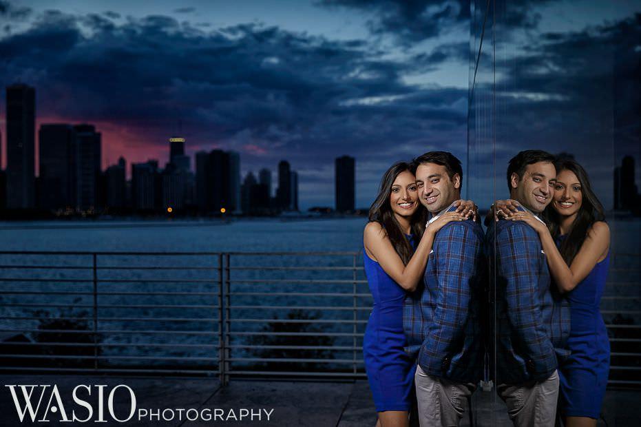 Chicago-Indian-Engagement-session-sunset-adler-planetarium-epic-12 Chicago Indian Engagement Session - Reeya & Aman