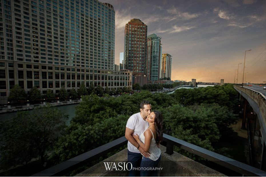 Chicago Riverwalk Engagement – Arsiak and Amir