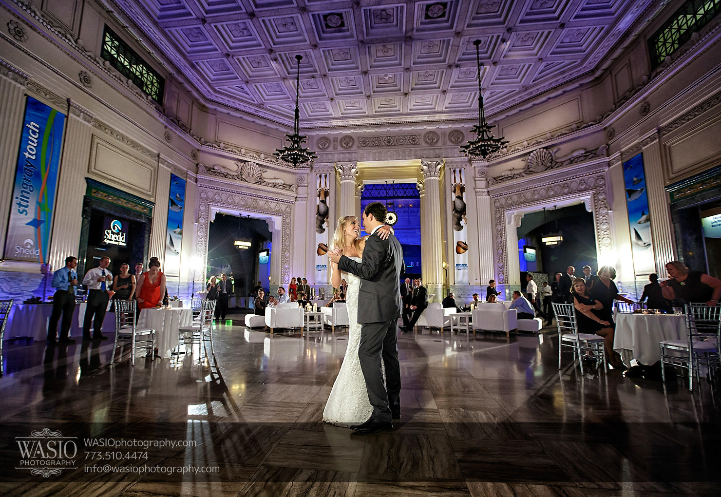 Chicago Shedd Aquarium Wedding – Caitlin & Andres