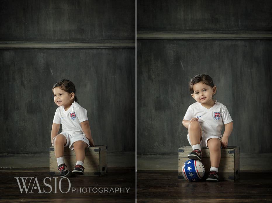 Chicago-Spring-Family-Photo-Session-soccer-ball-team-uniform-smiles-68 Chicago Spring Family Photo Session