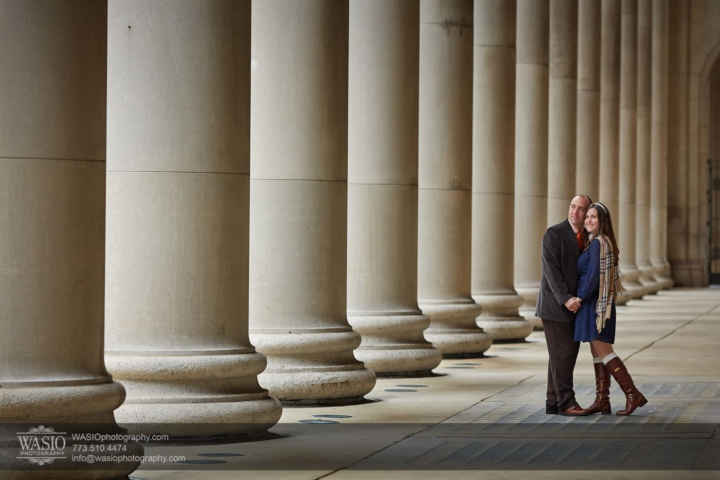 Chicago-Sunset-Engagement_010 Chicago Sunrise Engagement, Lauren & David