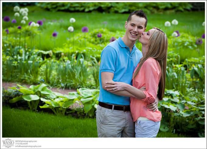 Chicago-Wedding-Engagement-Garden-Art-Institure-Photography-680x488 Art Institute Gardens Engagement - Natalia & Michal