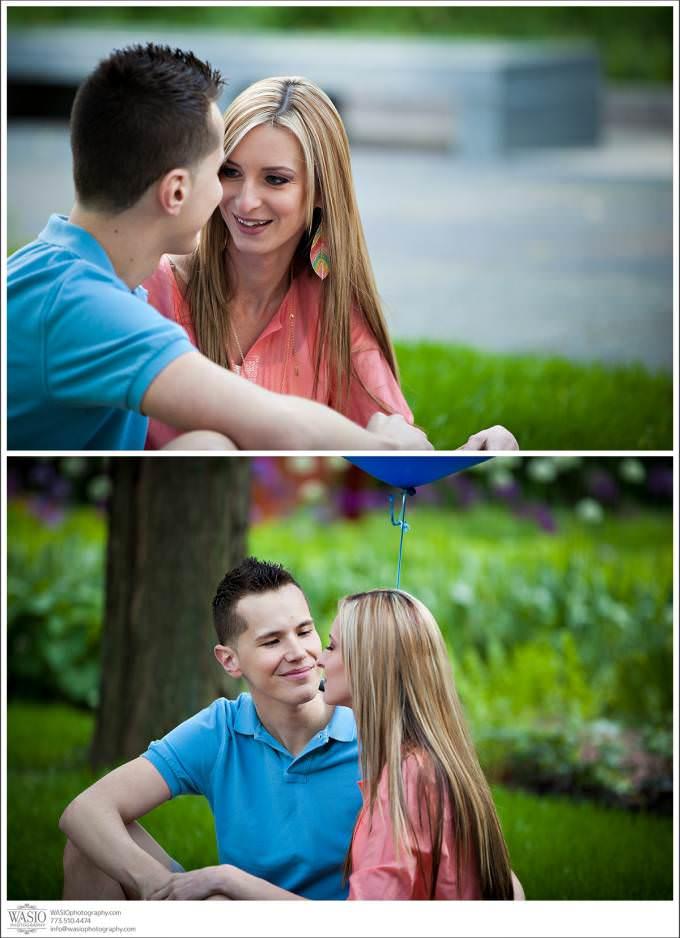Chicago-Wedding-Photographer-Polish-Couple-polskie-zareczyny-680x938 Art Institute Gardens Engagement - Natalia & Michal