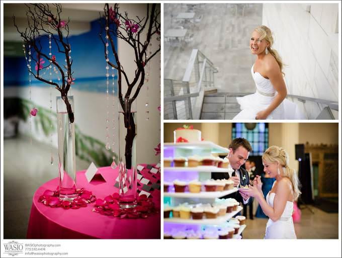 Chicago-Wedding-Photographer-Shedd-Aquarium-wedding-party-680x513 Shedd Aquarium Wedding & Grant Park's Tiffany Garden - Julie & Caleb