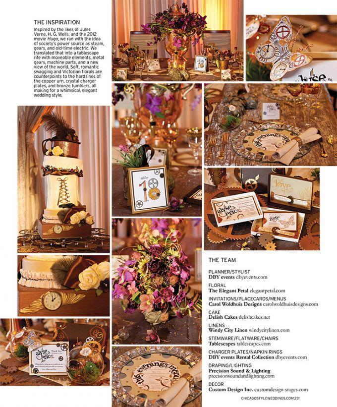 Chicago-Wedding-Photographer-WASIO-photography-Chicago-Style-Wedding-Designers-Challenge-Page231-680x821 Chicago Wedding Photography Featured in Chicago Style Weddings