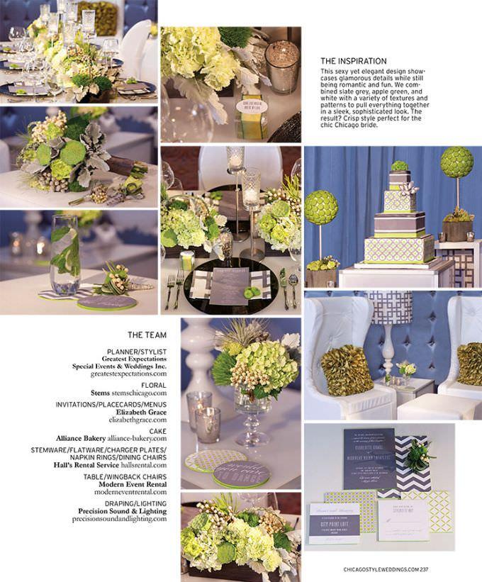 Chicago-Wedding-Photographer-WASIO-photography-Chicago-Style-Wedding-Designers-Challenge-Page237-680x821 Chicago Wedding Photography Featured in Chicago Style Weddings
