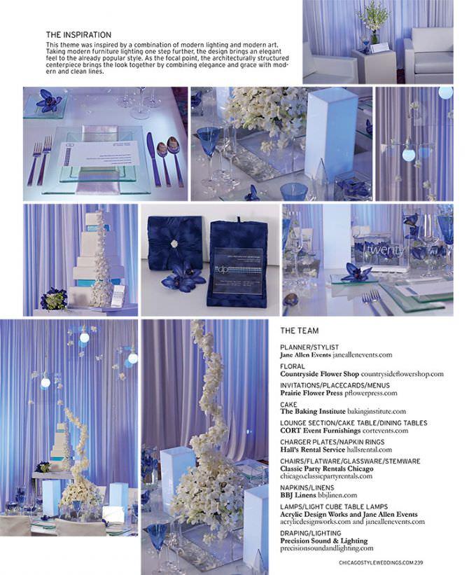 Chicago-Wedding-Photographer-WASIO-photography-Chicago-Style-Wedding-Designers-Challenge-Page239-680x821 Chicago Wedding Photography Featured in Chicago Style Weddings