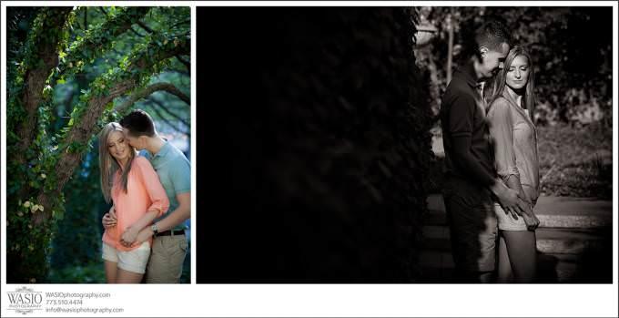 Chicago-Wedding-Photographer-hign-end-engagement-art-institute-680x349 Art Institute Gardens Engagement - Natalia & Michal