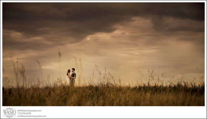 Chicago-Wedding-Photographer_118-panoramic-dramatic-sky-couple-outdoor-engagement-680x391 Illinois Engagement Photography Session - Shannon + Keith