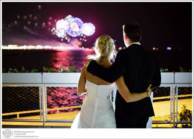 Chicago-Wedding-Photographer_Shedd-Fireworks-Navy-Pier-Monroe-Harbor-680x488 Shedd Aquarium Wedding & Grant Park's Tiffany Garden - Julie & Caleb