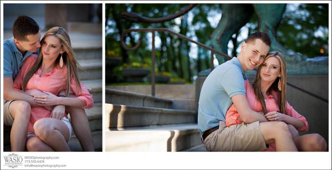 Chicago-Wedding-Photographer_engagement-city-art-intitute-portrait-680x349 Art Institute Gardens Engagement - Natalia & Michal
