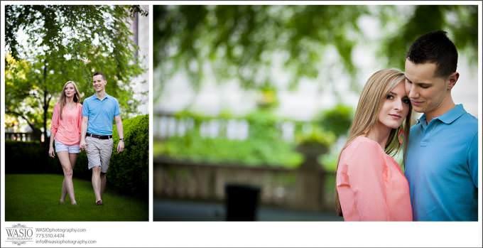 Chicago-Wedding-Photography-Art-Institute-Engagement-680x349 Art Institute Gardens Engagement - Natalia & Michal