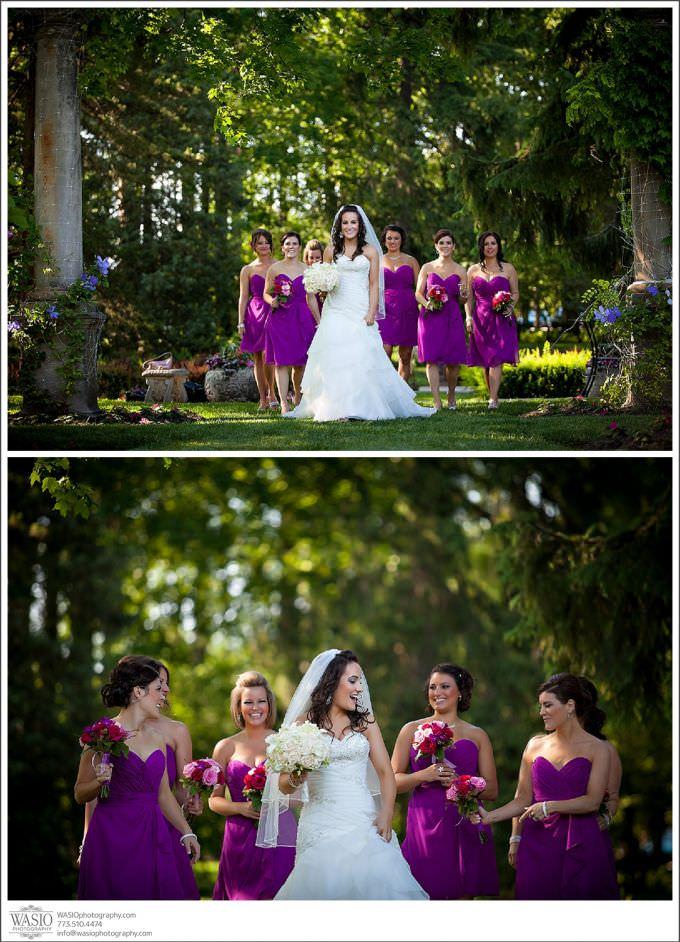 Chicago-Wedding-Photography-Cuneo-042-purple-wedding-bridal-party-680x942 Modern Cuneo Wedding - Stephanie + Dominick