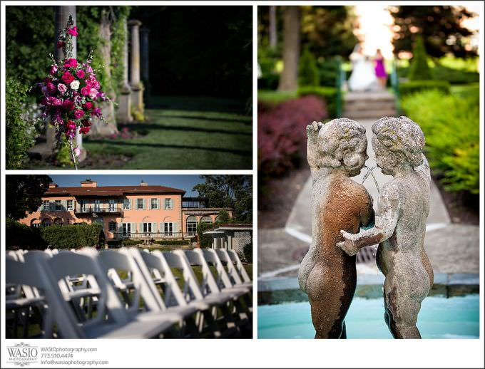 Chicago-Wedding-Photography-Cuneo-044-mansion-museum-details-outdoor-ceremony-680x518 Modern Cuneo Wedding - Stephanie + Dominick