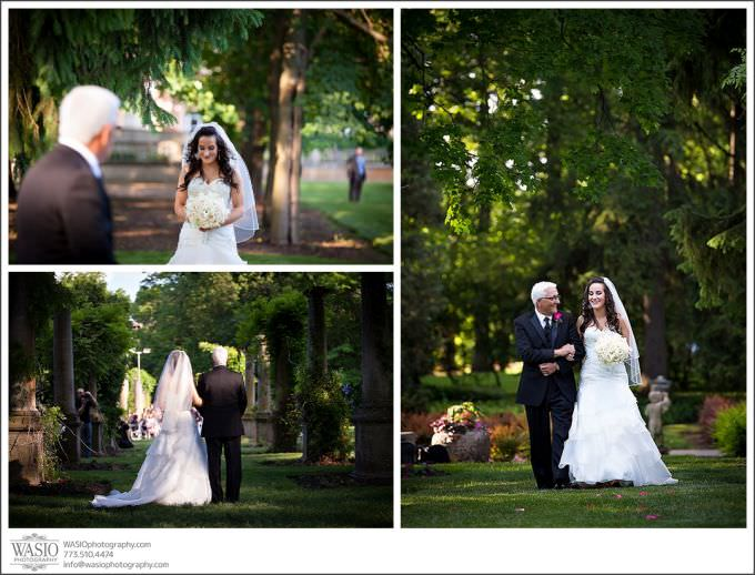 Chicago-Wedding-Photography-Cuneo-046-outdor-ceremony-father-walking-bride-680x518 Modern Cuneo Wedding - Stephanie + Dominick