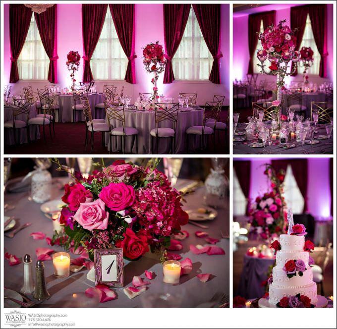 Chicago-Wedding-Photography-Cuneo-050-classy-tables-reception-wedding-cake-680x664 Modern Cuneo Wedding - Stephanie + Dominick