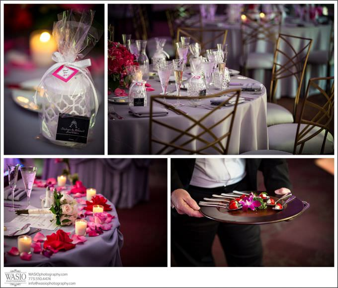 Chicago-Wedding-Photography-Cuneo-051-beautiful-tables-roses-flowers-680x579 Modern Cuneo Wedding - Stephanie + Dominick
