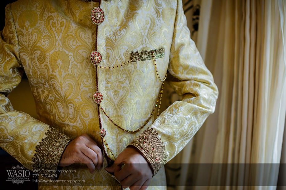 Chicago-Wedding-Photography-South-Asian-Indian-Wedding-0170-groom-getting-ready-931x620 South Asian Indian Wedding at JW Marriott - Shreya + Monil