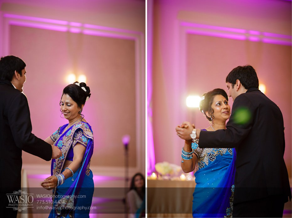 Chicago-Wedding-Photography-South-Asian-Indian-Wedding-0258mother-of-the-groom-dance-jw-marriott-931x695 South Asian Indian Wedding at JW Marriott - Shreya + Monil