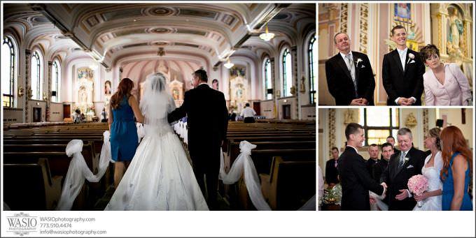 Chicago-Wedding-Photography_196-dad-walking-bride-down-isle-680x341 Chicago Wedding Photography - Natalia + Michal