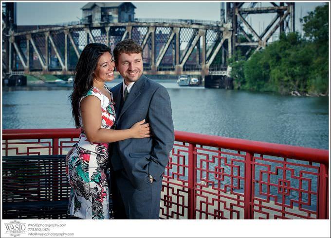 Chicago-Wedding-Photography_233-dramatic-portrait-680x490 Chicago Engagement Photography - Andrea + Darek