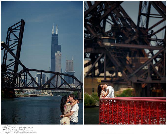 Chicago-Wedding-Photography_243-dramatic-engagement-chicago-skyline-680x544 Chicago Engagement Photography - Andrea + Darek
