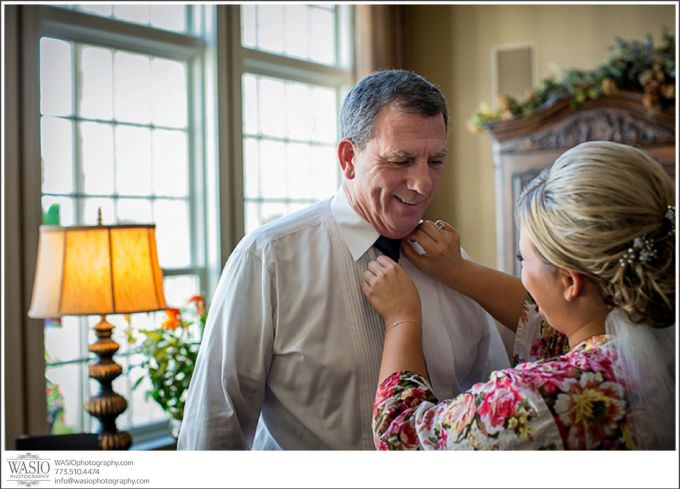 Chicago-Wedding-Photography_370-bride-helping-father-get-ready-680x489 Romantic Wedding Story - Jessie + Anthony