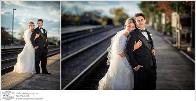 Chicago-Wedding-Photography_378-romantic-couple-portrait-sunset-680x351 Romantic Wedding Story - Jessie + Anthony