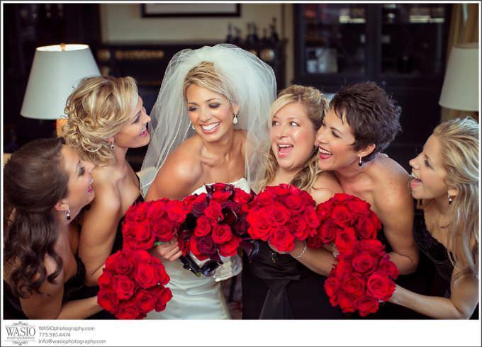 Chicago-Wedding-Photography_392-bridal-party-fun-photo-680x490 Chicago Wedding at Blackstone Hotel - Jody + Mike