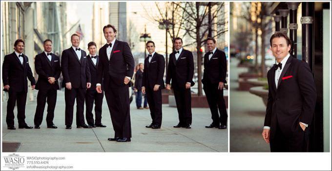 Chicago-Wedding-Photography_395-groom-portrait-michigan-avenue-680x351 Chicago Wedding at Blackstone Hotel - Jody + Mike