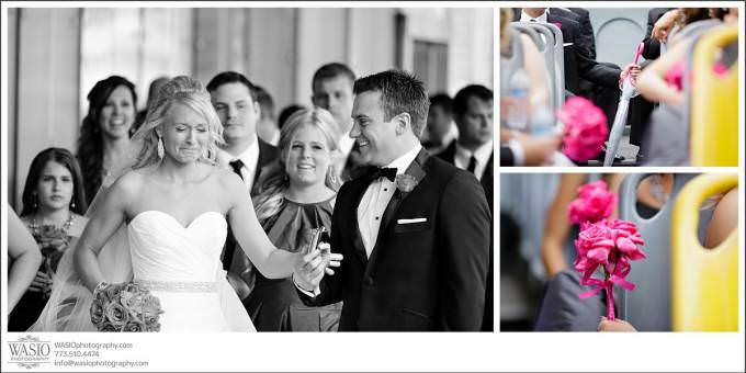 Chicago-Wedding-fun-wedding-party-trump-tower-680x340 Shedd Aquarium Wedding & Grant Park's Tiffany Garden - Julie & Caleb