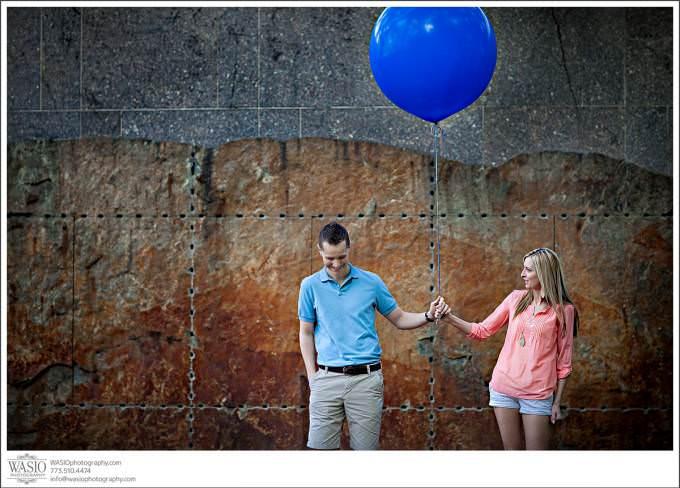Chicago-artistic-modern-Wedding-engagement-photography-680x488 Art Institute Gardens Engagement - Natalia & Michal