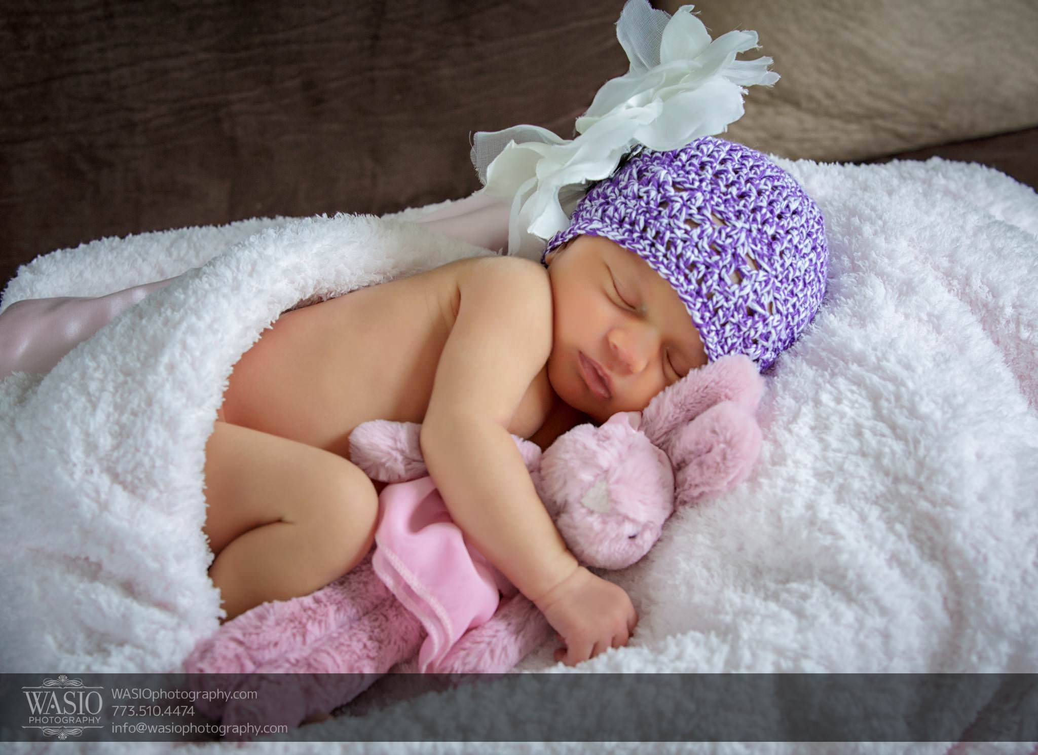 Chicago newborn photography – Anastasia