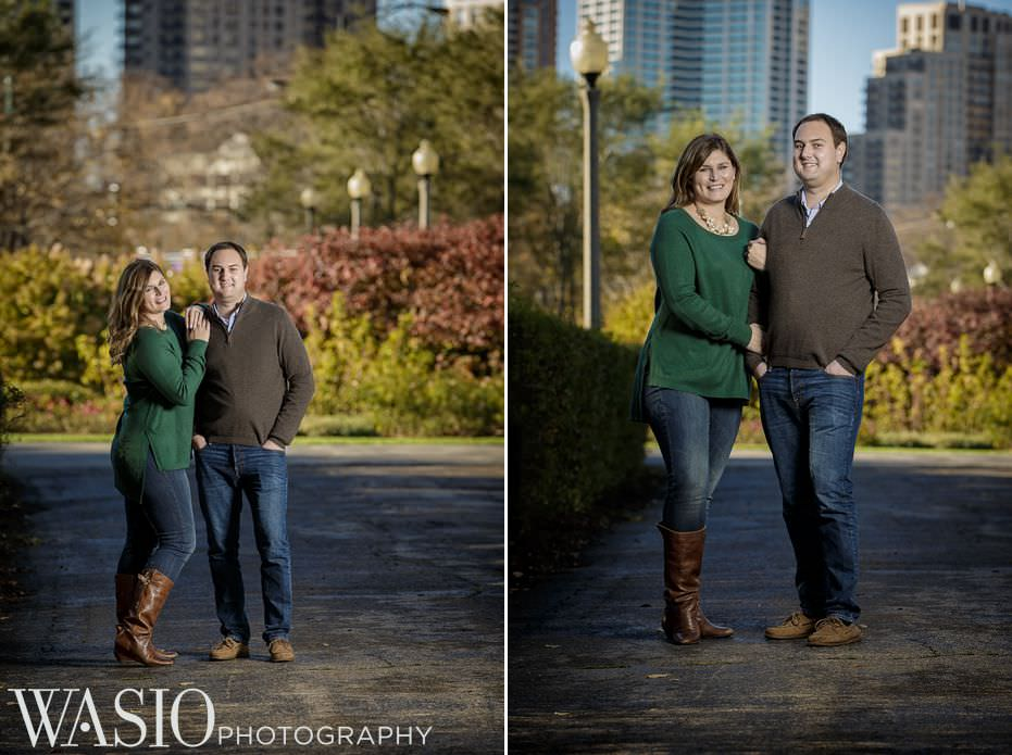 Chicago-engagement-downtown-park-photos-32 Chicago Engagement - Allie + John