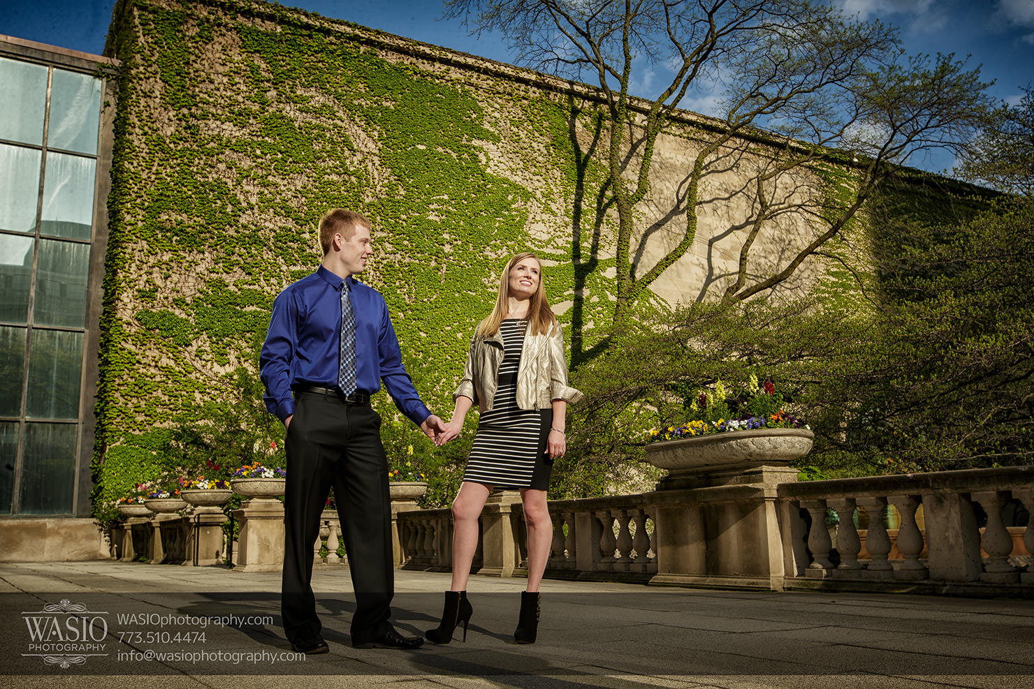 Chicago engagement photography session – Lauren + Matt