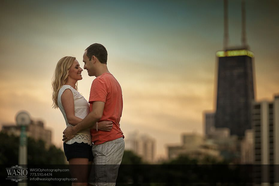 Chicago Engagement Photography – Kate + Sami