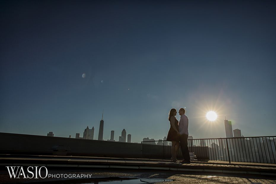 Chicago-engagement-photography-ideas-sunrise-city-skyline-Lincoln-Park-22 Chicago Engagement - Allie + John