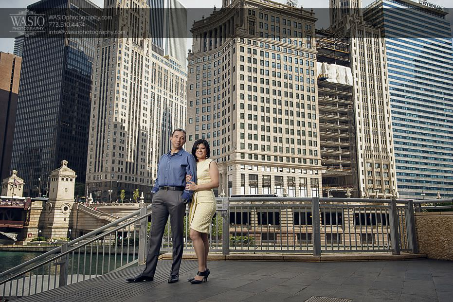 Chicago Engagement Photos – Claudia + Javier