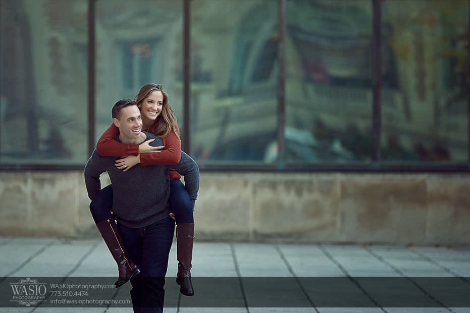 Chicago Engagement Photos – Alina + Mike