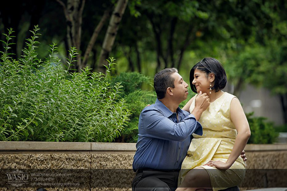Chicago-engagement-photos-intimate-moment-cute-romantic-nature-summer-outdoor-158 Chicago Engagement Photos - Claudia + Javier